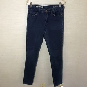 Madewell Jegging High Rise Skinny Jeans Sz 28W 32L